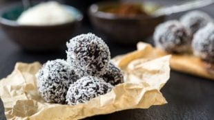 Slow Cooker Homemade Almond Joy Truffles