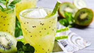 Mint Kiwi Lemonade