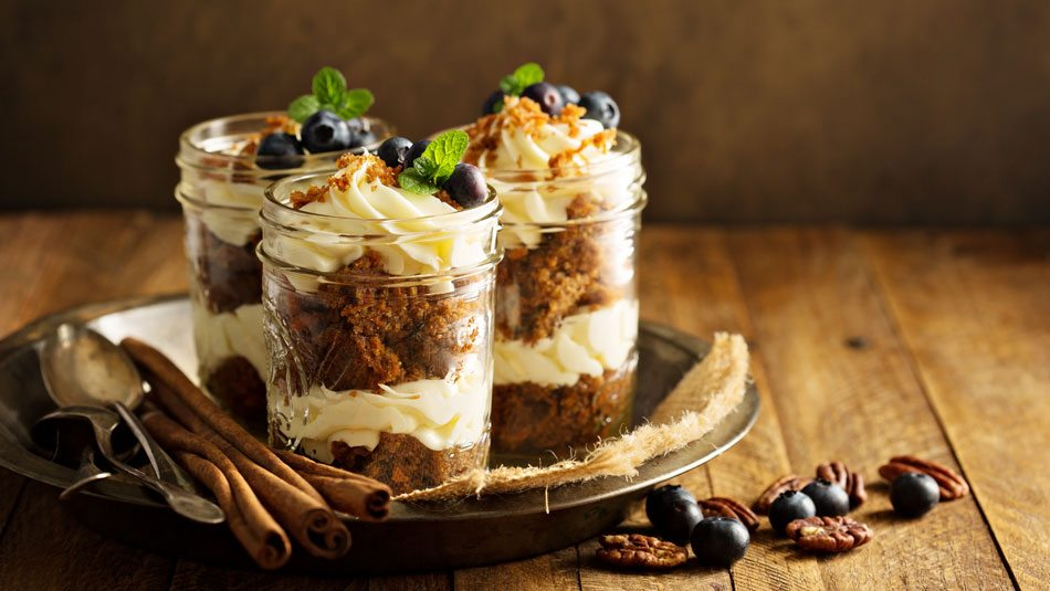 Carrot Cake In A Jar