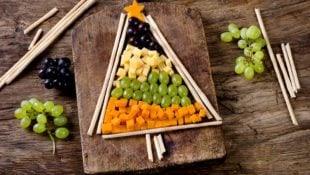 Christmas Tree Cheese Plate