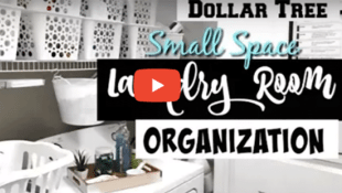 How to Organize Your Tiny Laundry Room on the Cheap