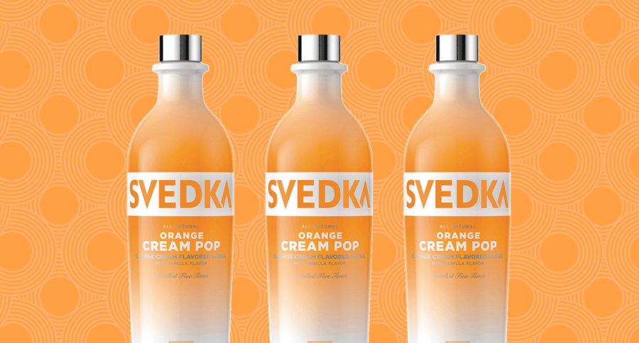 Orange Cream Pop Vodka