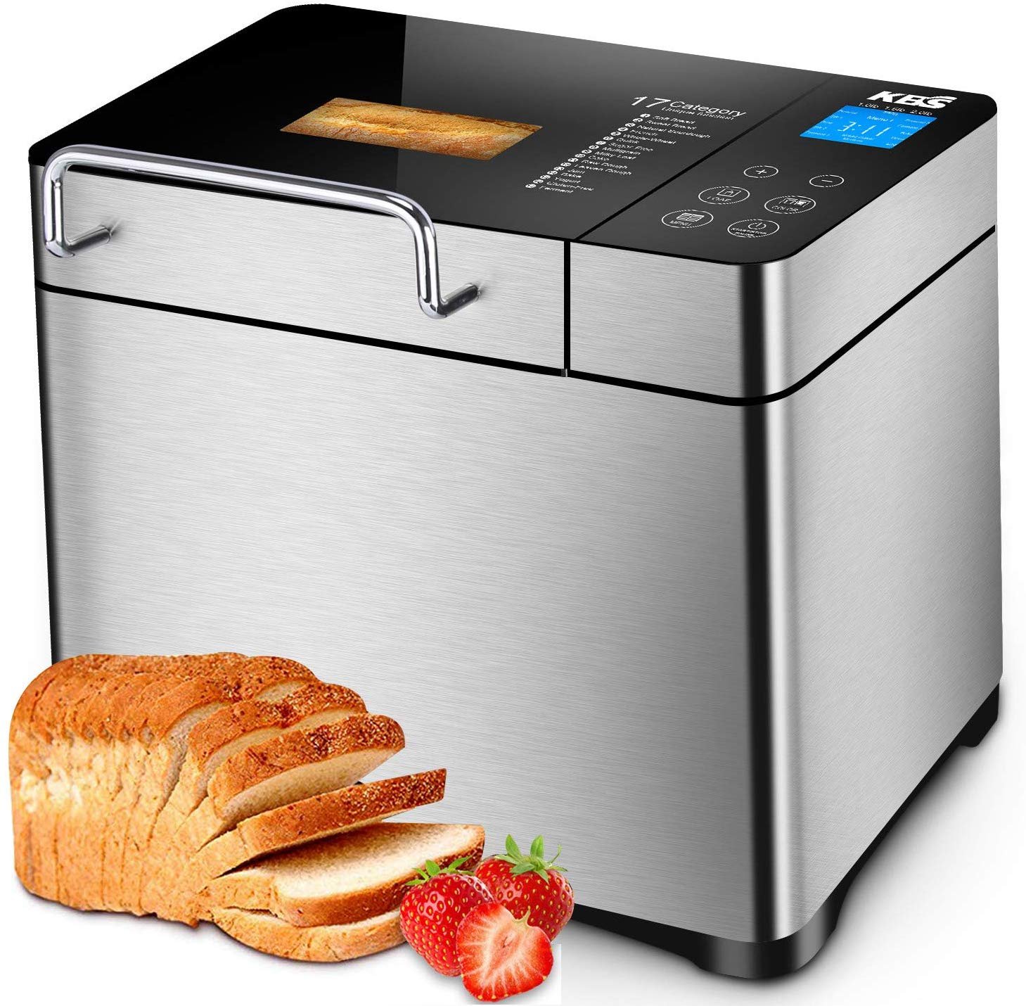 KBS Pro Stainless Steel Bread Machine