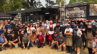 Guy Fieri Feeds Response Crews of California Wildfires