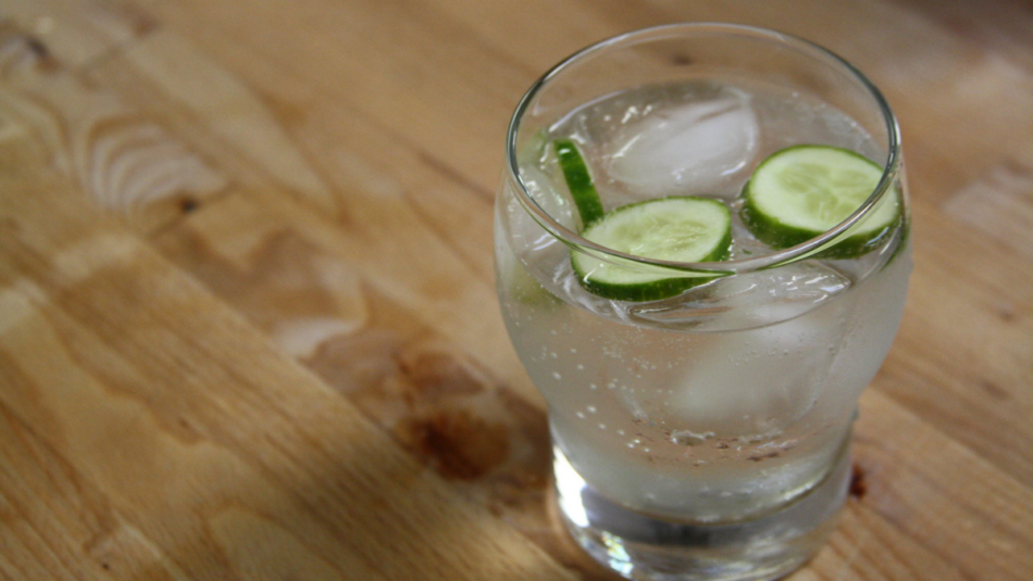 what is gin made from