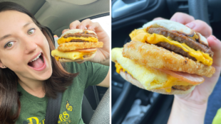 I Tried the McBrunch Burger and It's The Perfect Hangover Cure