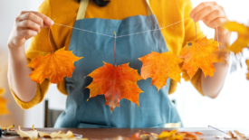 This DIY Fall Garland Adds an Autumnal Twist to Your Home Decor