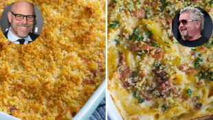 We Battled Guy Fieri's and Alton Brown's Mac and Cheese and The Winner Was Obvious